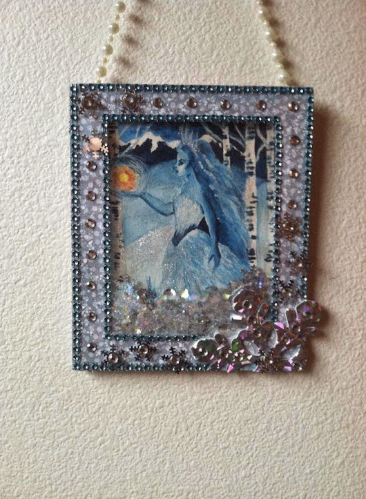Solstice 2014: Spirit of Winter Wall Hanging