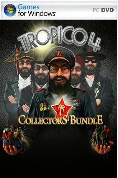Cover Caratula Tropico 4 Collector's Bundle Full PC ESPAÑOL