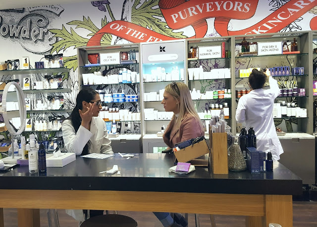 Kiehl's Skincare Consultant and Product Recommodations for Dry Skin
