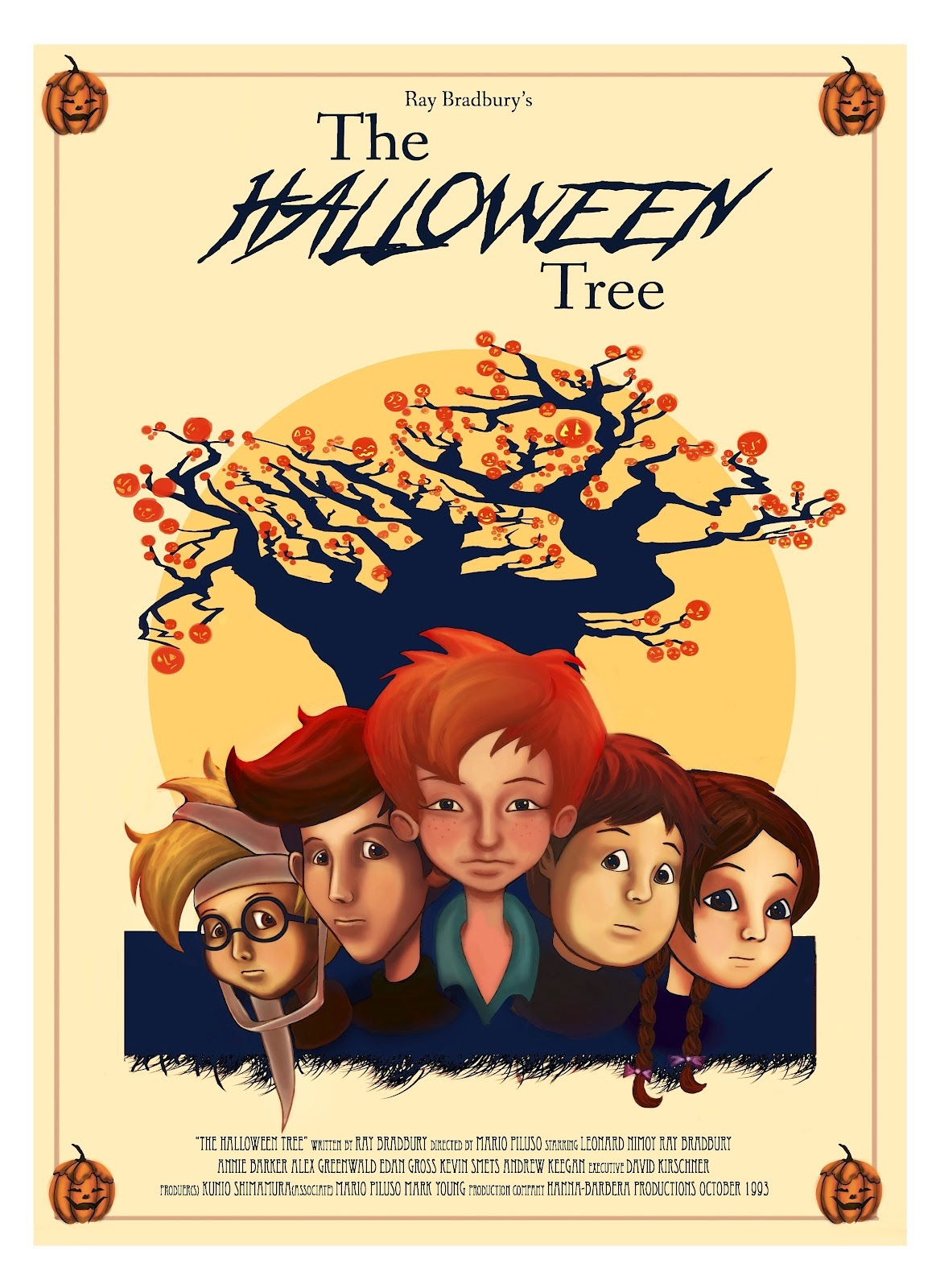 Film Trailers World Custom E Money Flazz Dan Brizzi Card Design Thor 1 The Halloween Tree