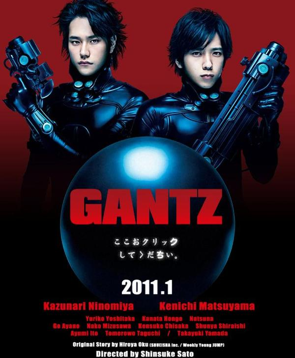 Gantz 1080p: Gantz 1.29 (Parte 1):The Movie/BDRip/1080p/MG