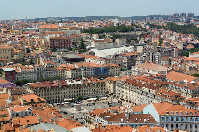 Praça da Figueira - Lisbonne-Portugal