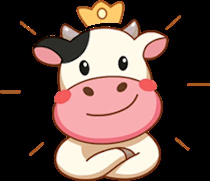 render vaca reina