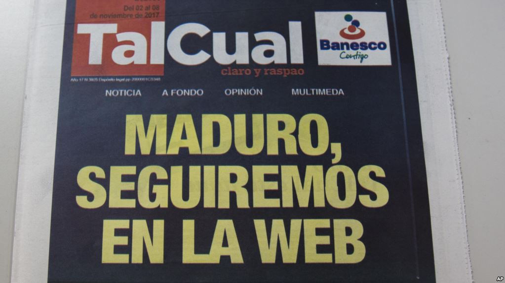 La prensa escrita sufrió el embate del régimen de Maduro