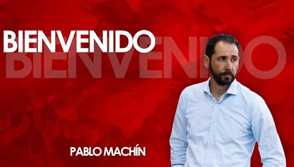 Oficial: El Sevilla firma al técnico Pablo Machín