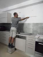 установка кухни сборщиком