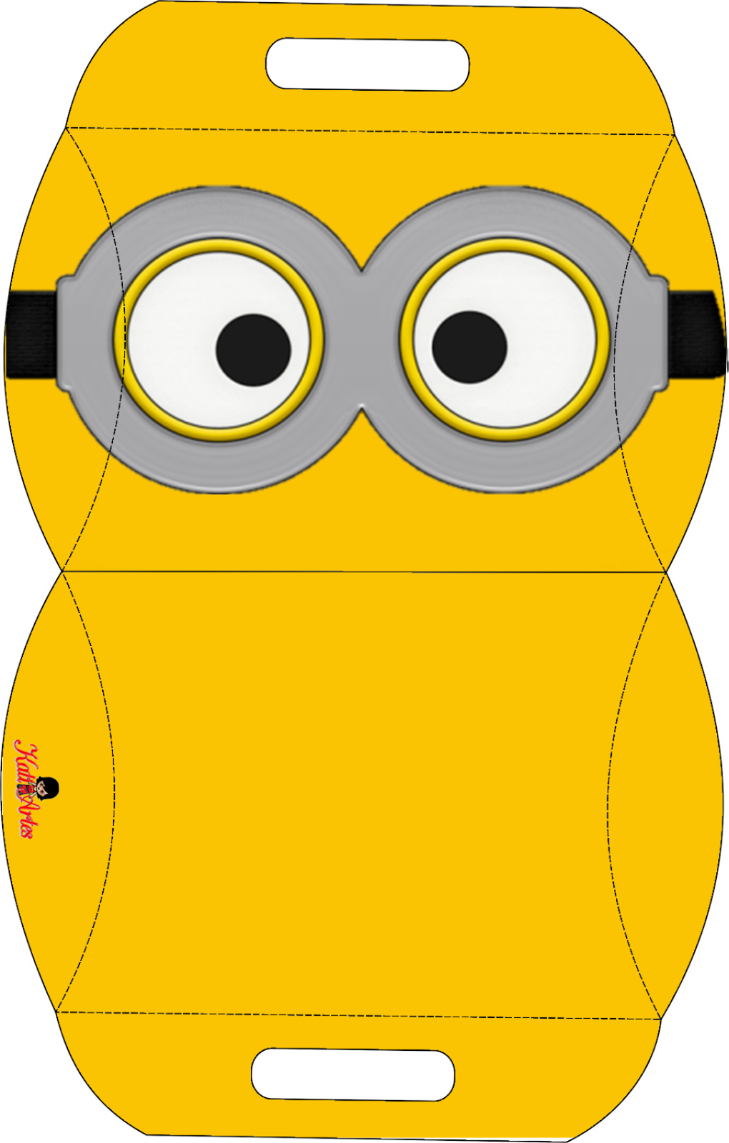 Minion cut out template google search cards for Minion overall template