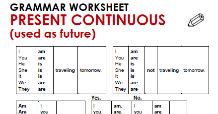 2learn English3 Practice 8 Present Continuous For Future