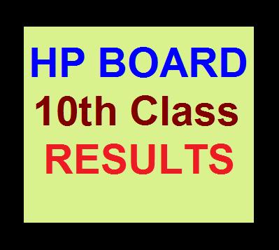 HP Board 10th Matric Results 2016