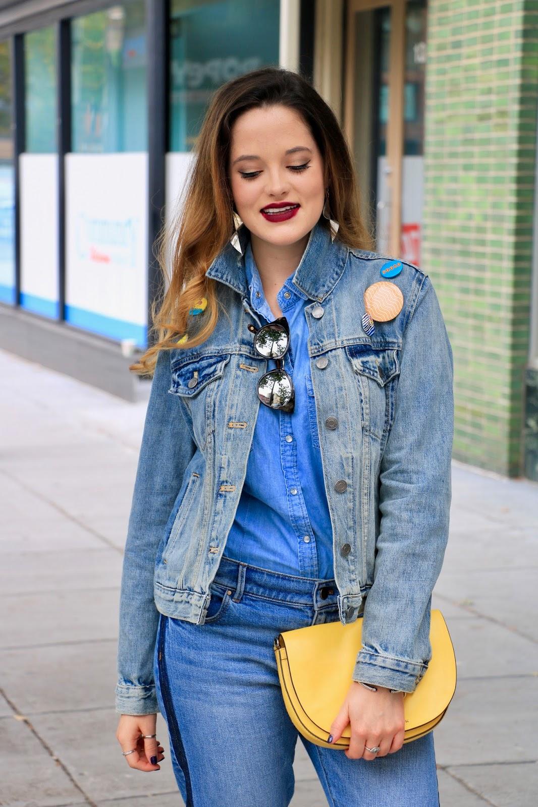Nyc fashion blogger Kathleen Harper of Kat's Fashion Fix