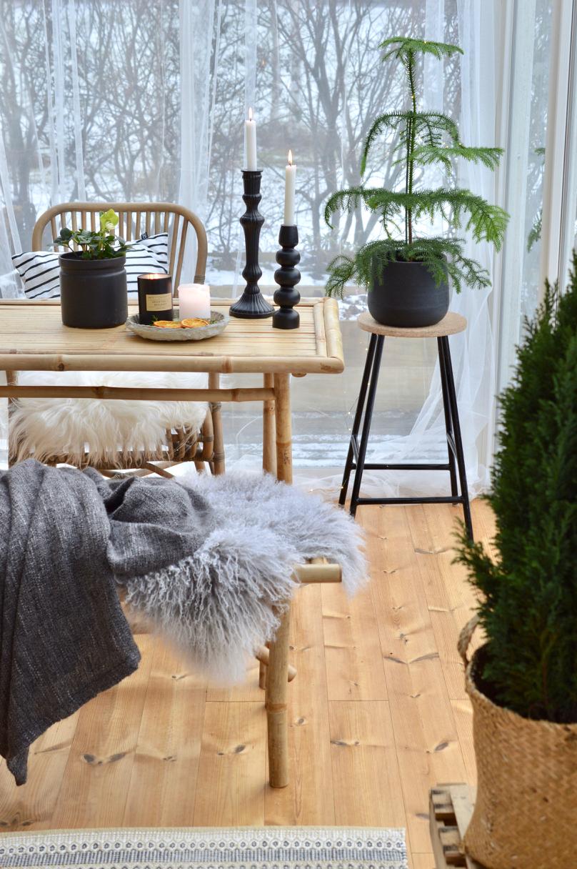 joulun sisustus 2018 Terassin joulua   Kanelia ja kardemummaa joulun sisustus 2018