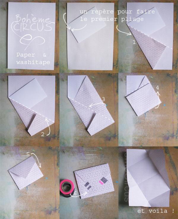 enveloppes en origami c 39 est pas moi qui l 39 ai fait. Black Bedroom Furniture Sets. Home Design Ideas