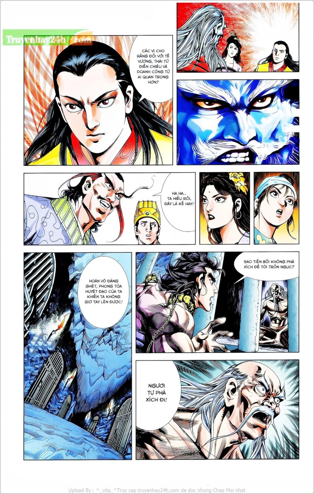 Tần Vương Doanh Chính chapter 26 trang 11