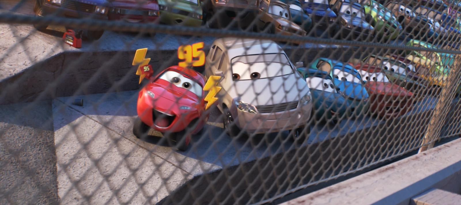 cars 3 maddy mcgear mattel diecast