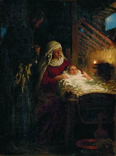 Илья Ефимович Репин Рождество Христово