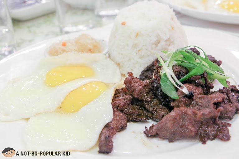 Beef Tapa of Bag of Beans, Tagaytay
