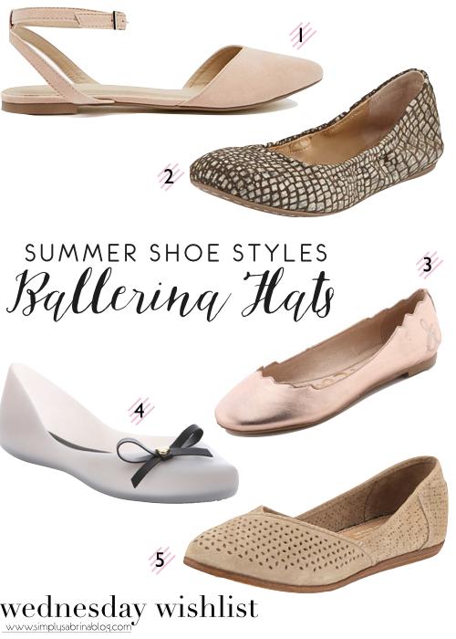 WEDNESDAY WISHLIST: Ballerina Flats