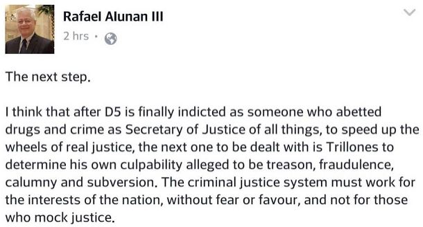 Ex-DILG Chief Warns Trillanes: After De Lima, He Is Next! MUST READ!