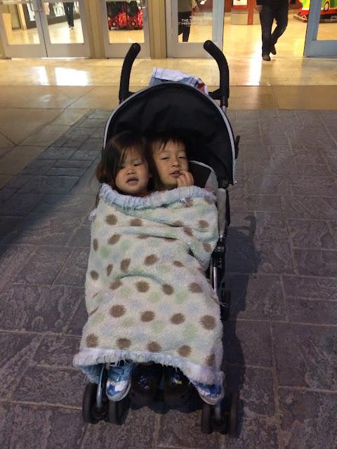 stroller sharing