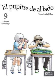 El pupitre de al lado 9, de Takuma Morishige