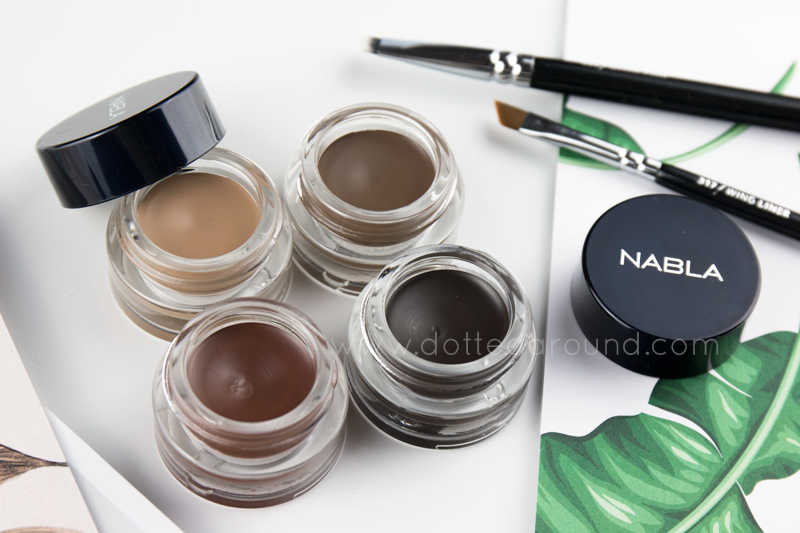 Nabla Brow pot shades colori
