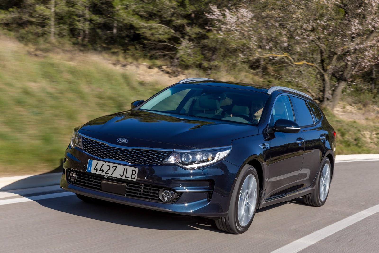 Kia Optima Sportswagon 2017 - Mẫu Wagon gợi tình nhất của Kia