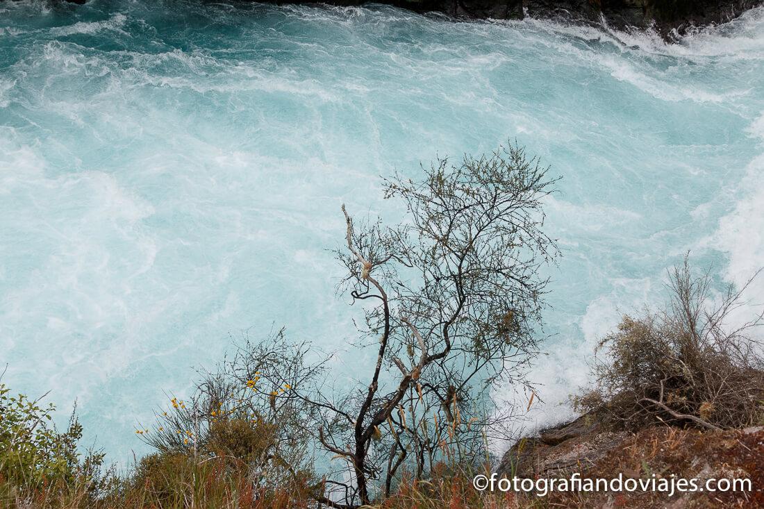 Huka falls en Taupo