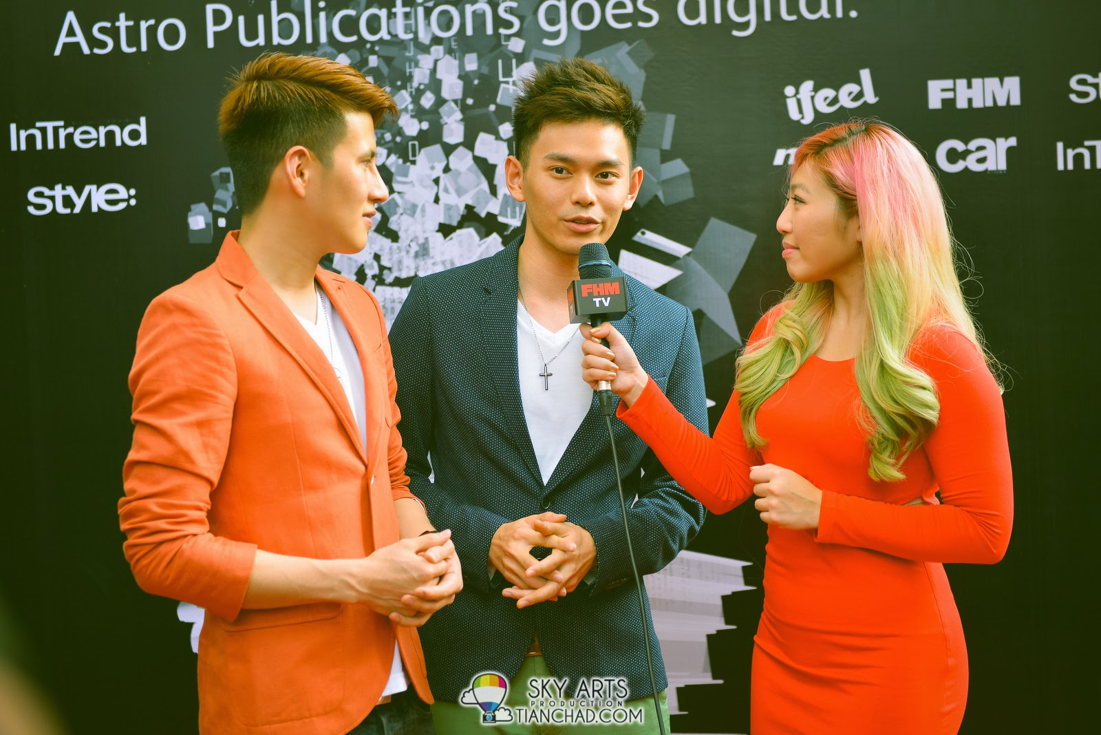 Fuying and Sam interviewed by Linora Low