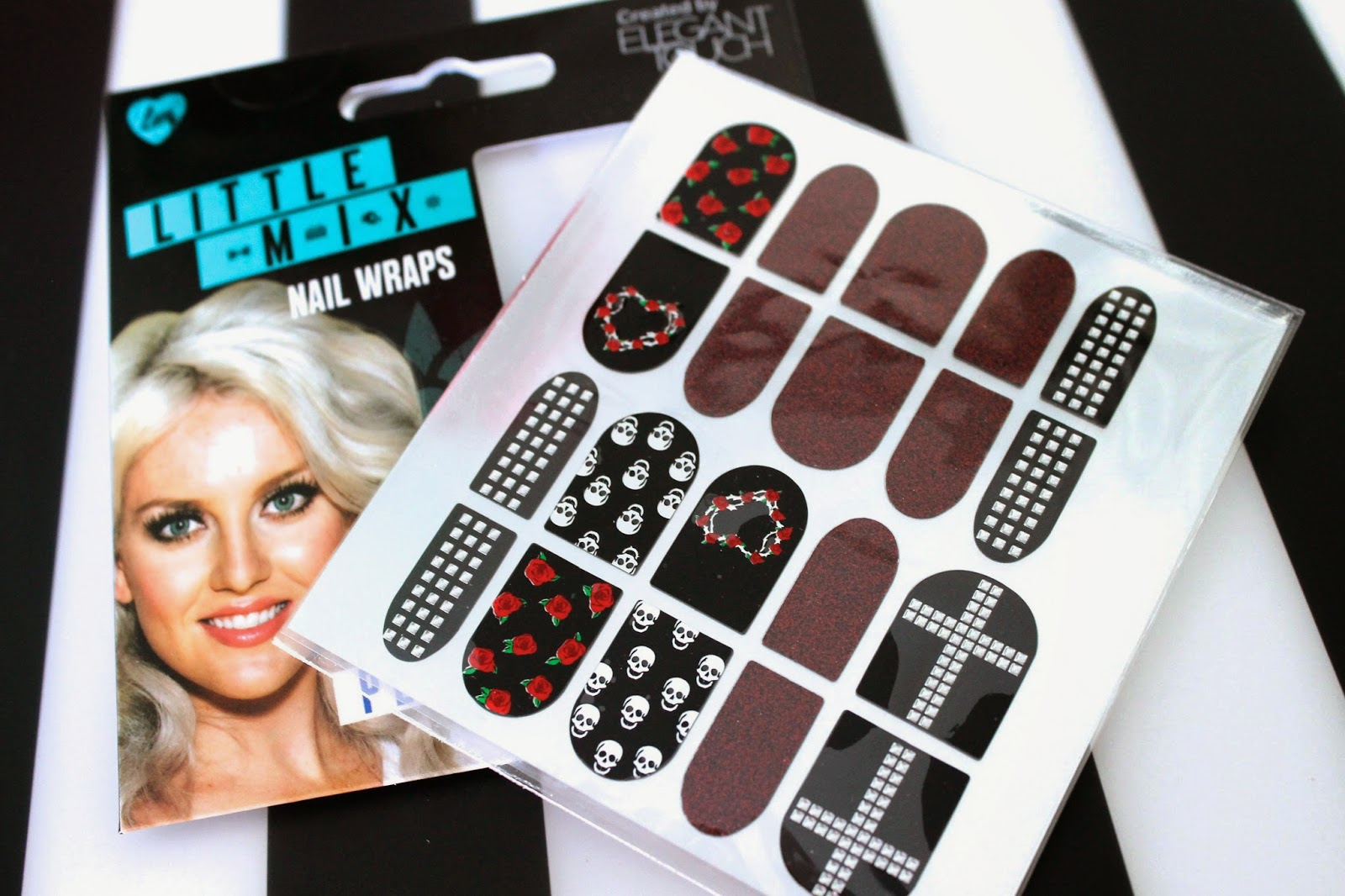 Elegant Touch Little Mix Perrie Nail Wraps