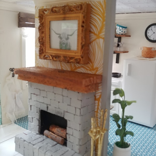 How to Make a Fireplace for Your Dollhouse