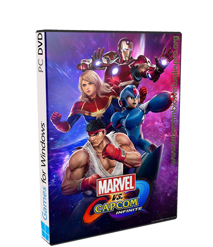 Marvel VS Capcom Infinite poster box cover