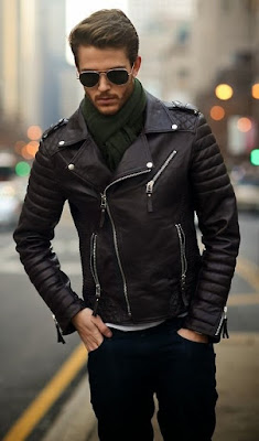 Jaket kulit Double Rider original