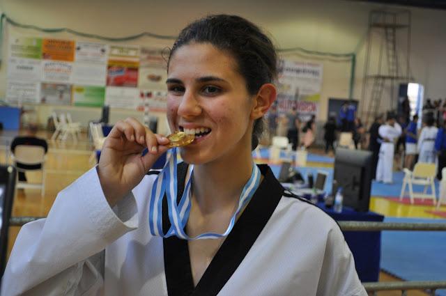 Χρυσό μετάλλιο για την Μαρία Κουκουμέλου στη Βαρσοβία