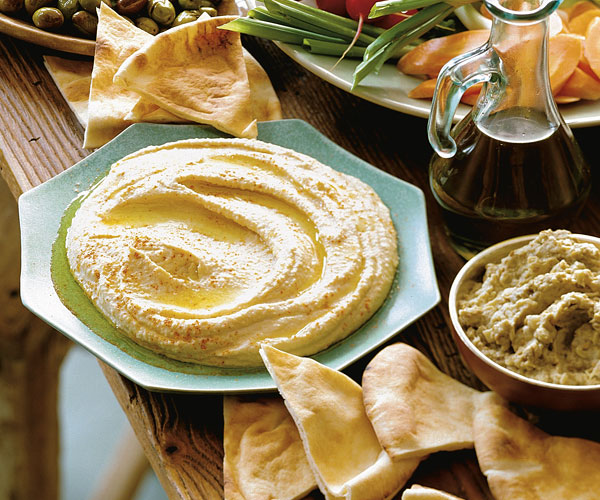 This makes a wonderful dip for vegetables and Hummus (Chickpea & Tahini Purée) Recipe