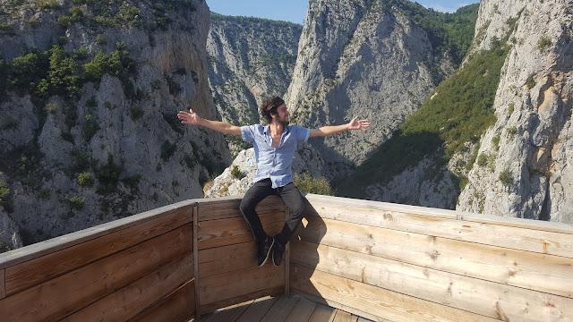Harun İstenci Kastamonu Küre Dağları Milli Parkı, Valla Kanyonu üzerinde.