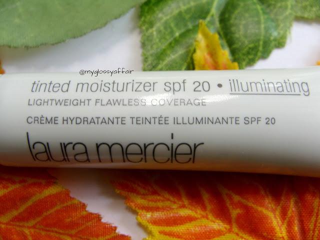 Laura Mercier Tinted Moisturizer SPF 20 illuminating natural radiance, Review and FOTD