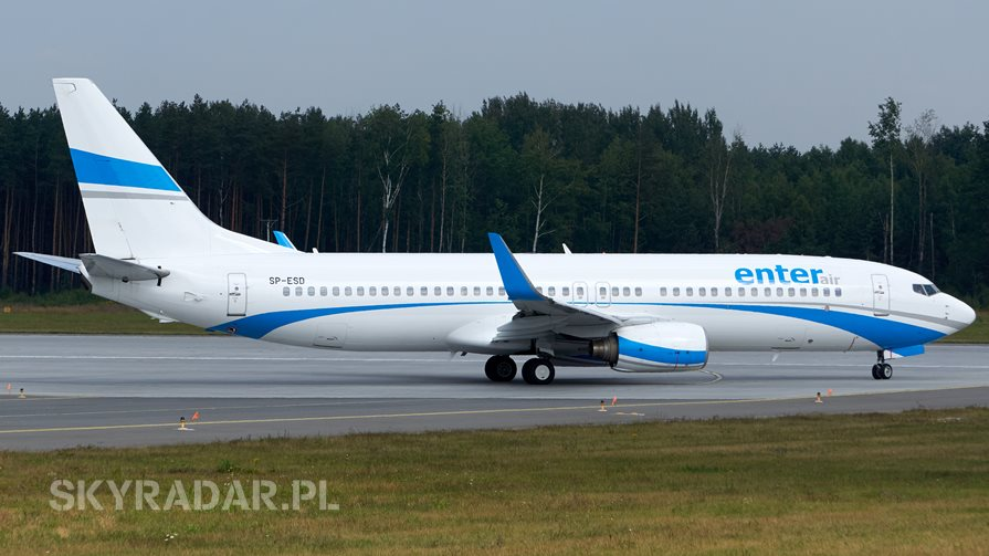 SP-ESD - Boeing 737