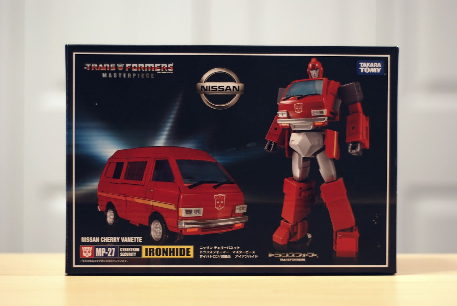 NOT HASBRO // TAKARA Masterpiece MP-27 Ironhide