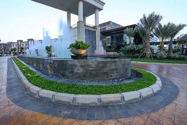 Orchard Park Batam Water Fountain