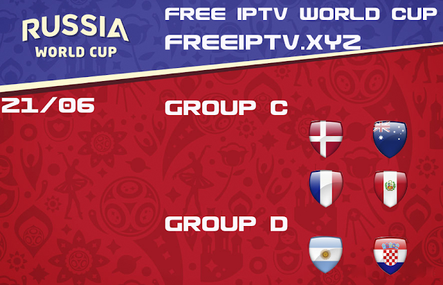World Cup 2018 iptv links free sport channel list 21/06/2018