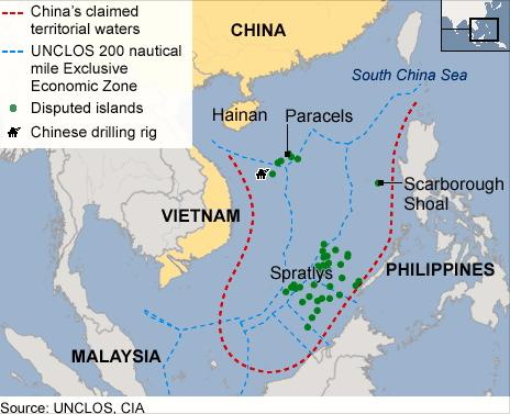 100 Kapal Nelayan & Pengawal Pantai China Ceroboh Perairan Negara