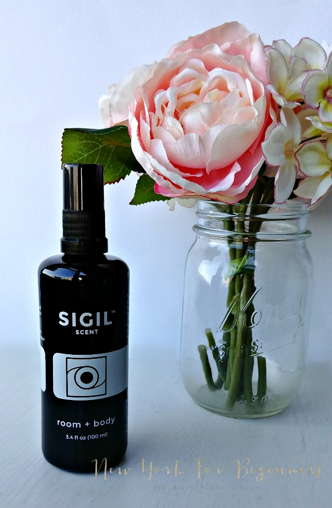 Review of Sigil Scent Aura room and body spray, a 100% natural and organic perfume alternative