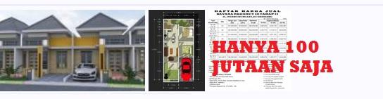Rumah Murah, Harga 100 Jutaan di Kota Medan
