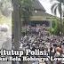 Perjuangan Peserta Aksi Bela Rohingya di Masjid An-Nuur Borobudur, Jalan Ditutup, Lewat Sungai