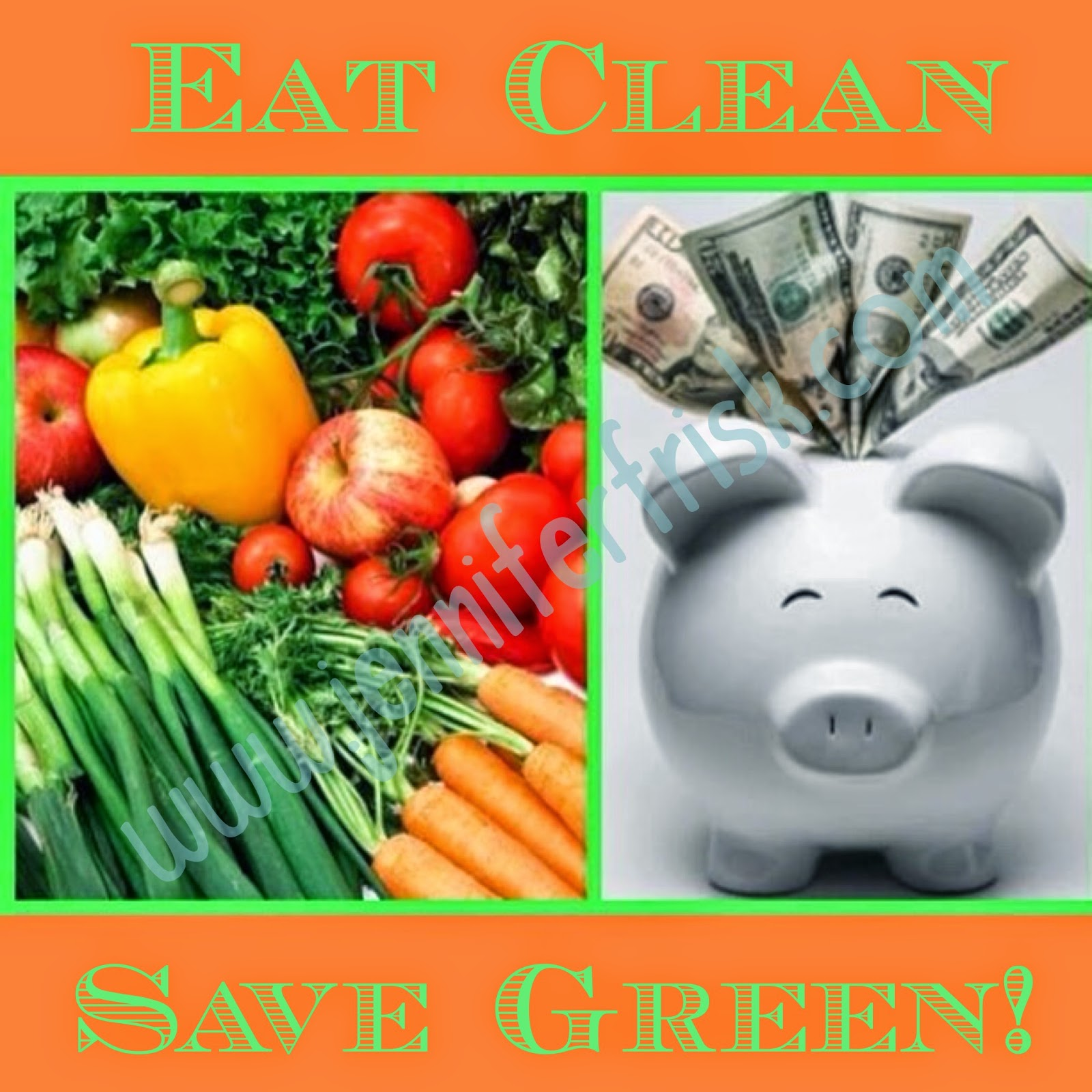 eat clean save green
