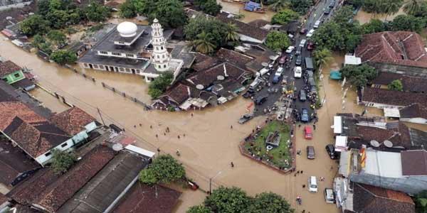 Setelah Tsunami, Banten Direndam Banjir