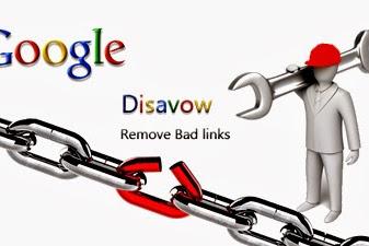 Cara Melakukan Google Disavow Backlinks Berkualitas Rendah