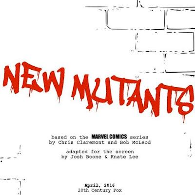 Josh Boone ya tiene listo el segundo borrador de 'New mutants'