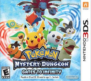 Pokémon Mystery Dungeon: Gates to Infinity, 3DS, Español, Mega, Mediafire