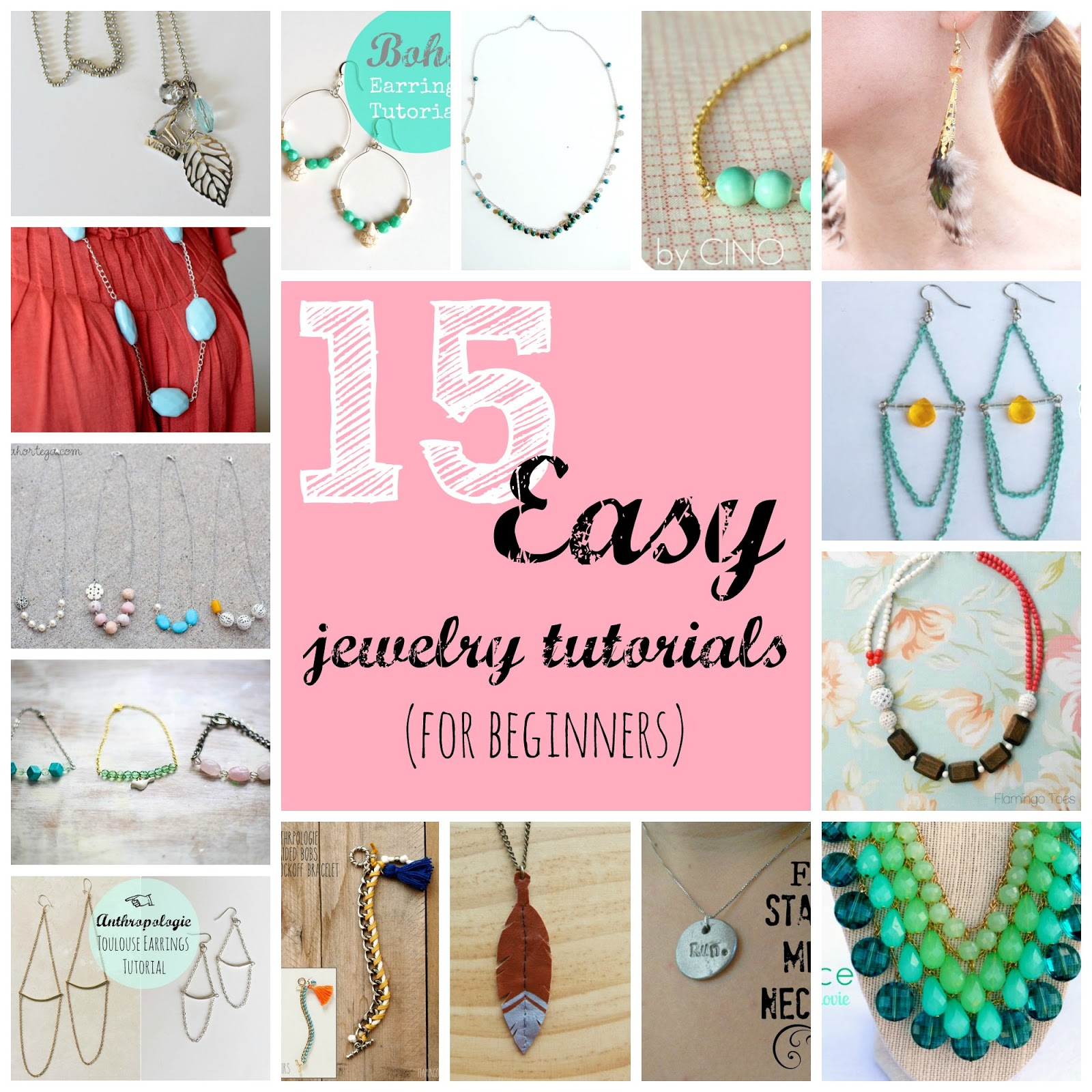 jewelry tutorials for beginners